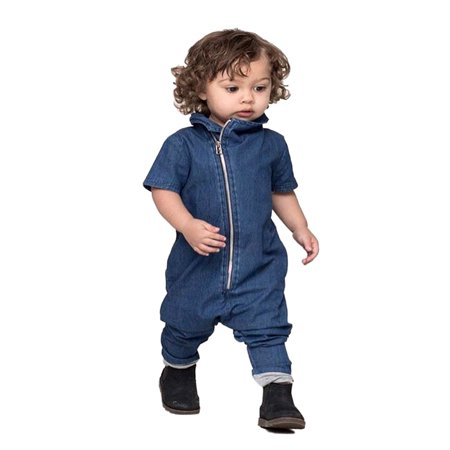 b531bfd8007b StylesILove Stylish Blue Jean Baby Boy Overall Romper (100 18-24 Months)