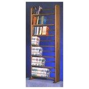 24.25 in. Dowel Bookcase (Honey Oak)