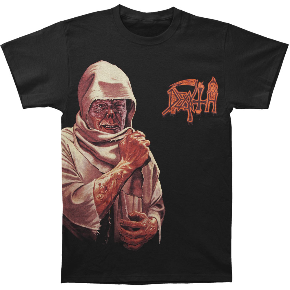 Death Men's  Leper Side Print T-shirt Black