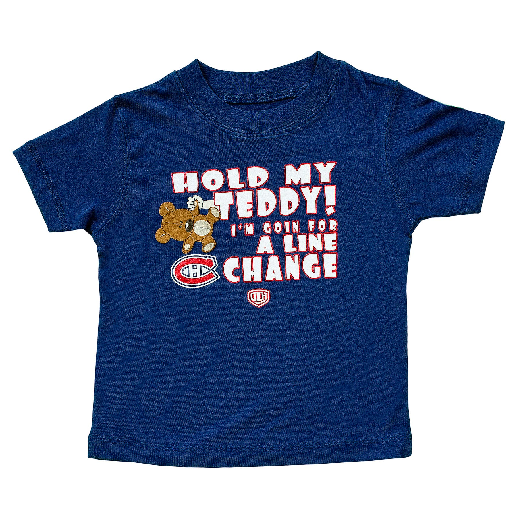 9bbf1bdc6 Montreal Canadiens Toddler Teddy T-Shirt - Old Time Hockey | Walmart ...