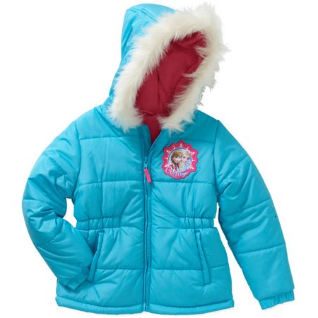 Disney Frozen - Disney Frozen Girls' Winter Magic Puffe - Walmart.com 01b4765ea15f