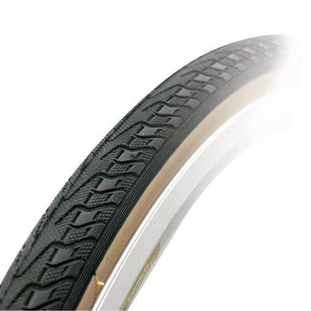Steel Bike Tire - Soma Fabrications New Xpress Steel Bead Road Bicycle Tire (Black/Skinwall - 27 x 1 1/4)