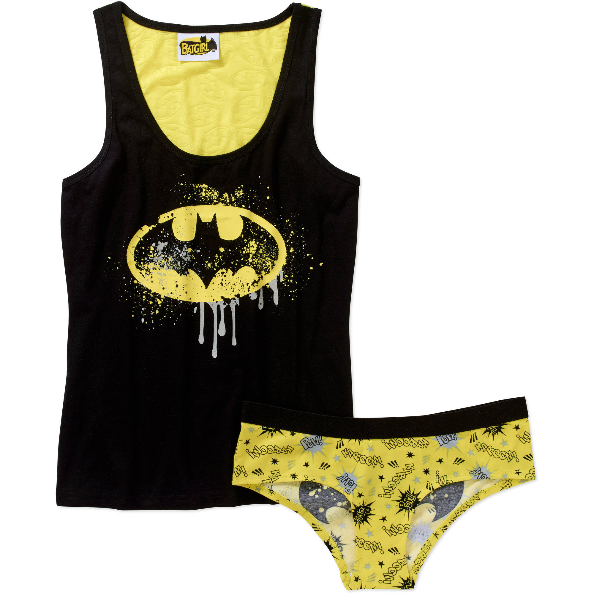 Batman Women's Cami and Panty Sleep Set