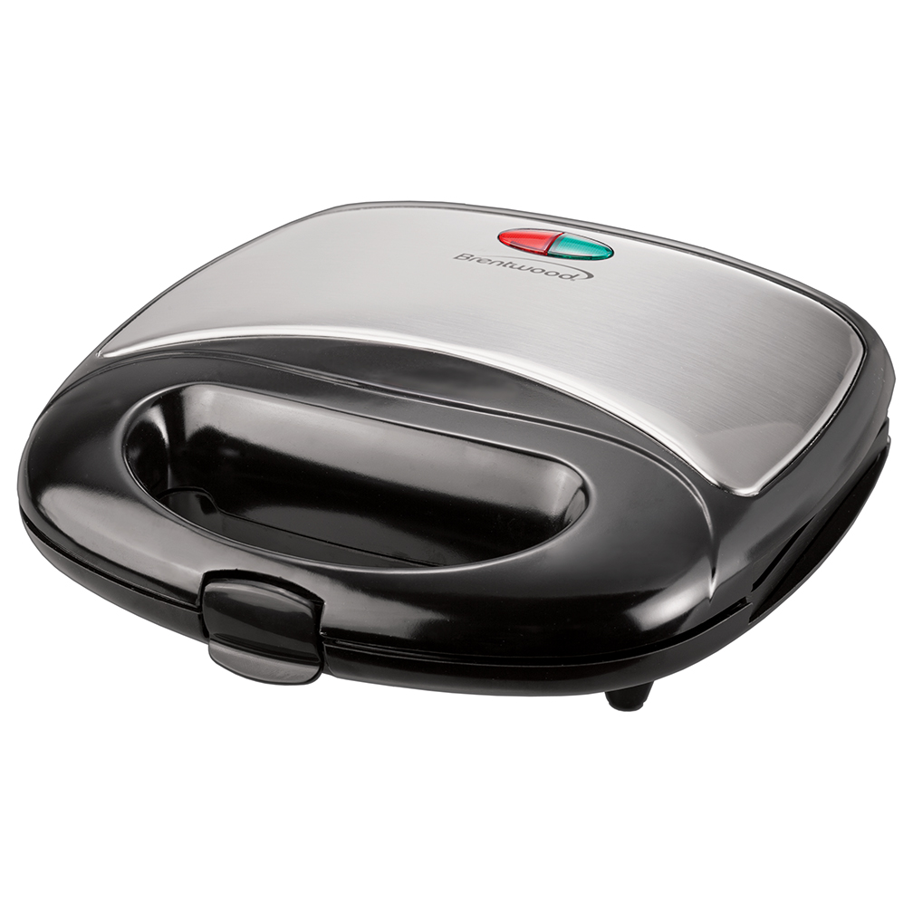 Brentwood TS246 Panini Maker (Stainless Steel & Black)