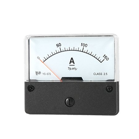 Unique Bargains Analogue Display DC 0-150A Panel Meter Measuring Tool