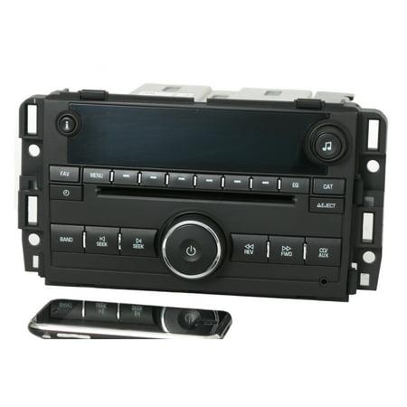 07-13 Chevy GMC Truck Van Radio AM FM CD w Bluetooth 25941137 Plastic UNLOCKED - Refurbished