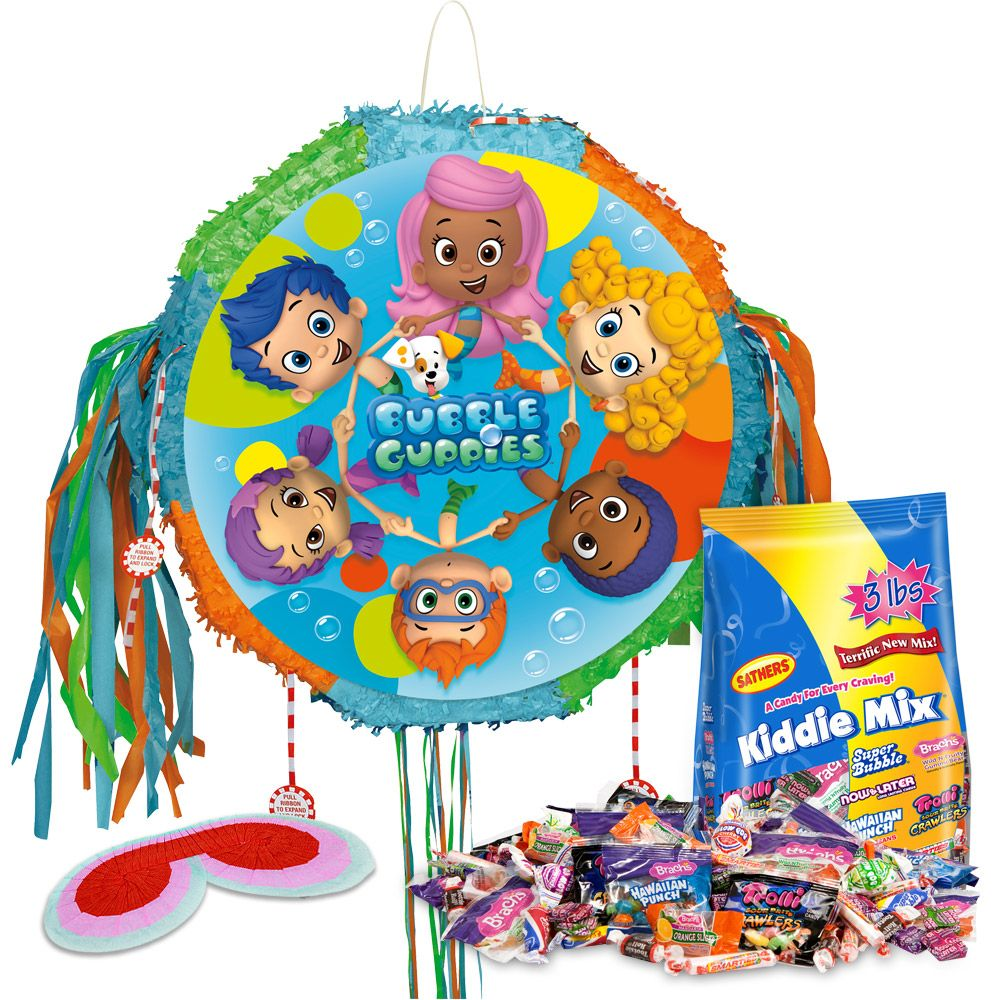 Bubble Guppies Pinata Kit (Each) - Party Supplies