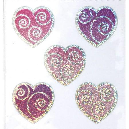 Hearts Sandylion Acid-Free Stickers (Sandylion Chipboard)