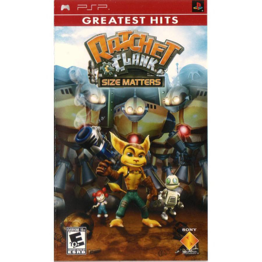 Ratchet & Clank:Size Matters Greatest Hits (PSP)