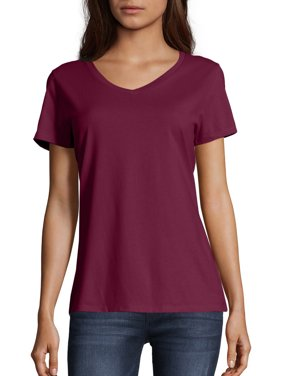 e5ab8e752 Product Image Women's Lightweight Short Sleeve V-neck T Shirt