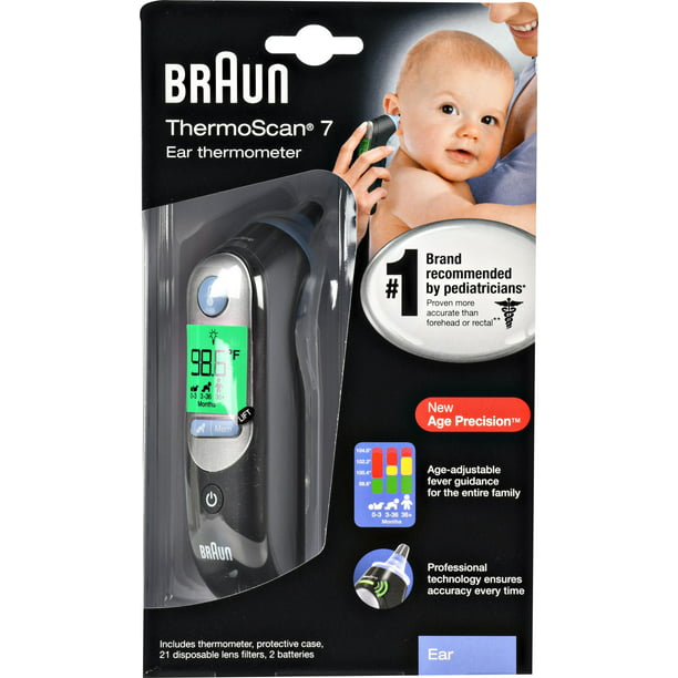 Braun Thermoscan 7 Ear Thermometer, IRT6520