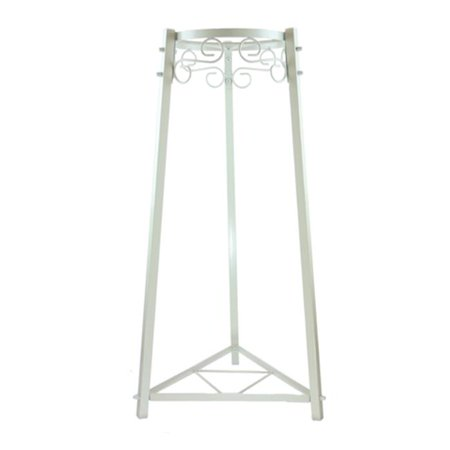 Bluewave Lifestyle PKSM254 2-Step Floor Metal Stand, White - 32 in. (Stepping Stand)
