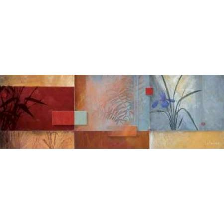 Posterazzi Nikis Spa Canvas Art - Don Li-Leger (12 x 36)