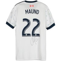 Aaron Maund Vancouver Whitecaps FC Autographed Match-Used Gray #22 Jersey from the 2018 MLS Season - Fanatics Authentic Certified