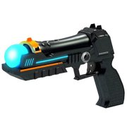 InSassy P-Shot Hand Gun PS Move Motion Controller Compatible for Sony PS3