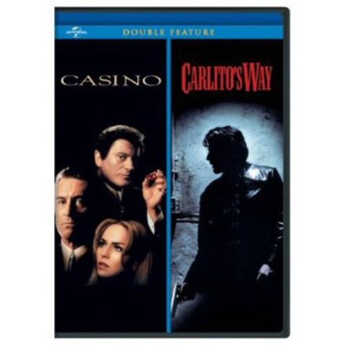 CASINO/CARLITOS WAY (DVD/2DISCS/DOUBLE FEATURES)