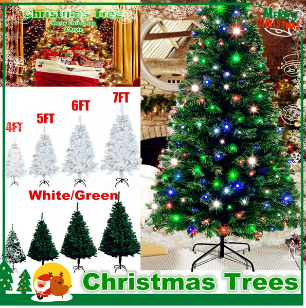Details about  /1.5//1.8//2.1M Xmas Artificial PVC Christmas Tree W// Stand Tool Holiday Home Decor