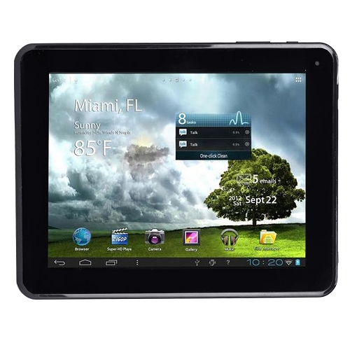 "Refurbished Trio Stealth Pro 9.7C 9.7"" 8GB Android 4.0 WiFi Tablet 1.0GHz 1GB w/Dual Webcams"