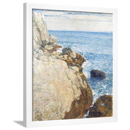 The East Headland, Appledore - Isles of Shoals, 1908 Framed Print Wall Art By Childe Hassam