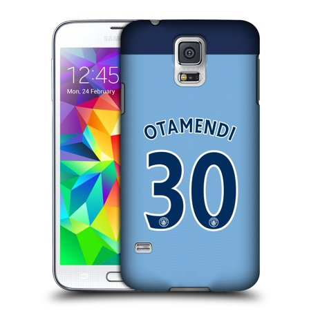 OFFICIAL MANCHESTER CITY MAN CITY FC PLAYER HOME KIT 2016/17 GROUP 1 HARD BACK CASE FOR SAMSUNG PHONES 1