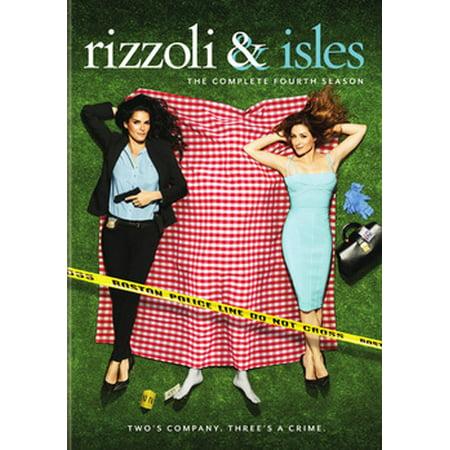 Rizzoli & Isles: The Complete Fourth Season (DVD)