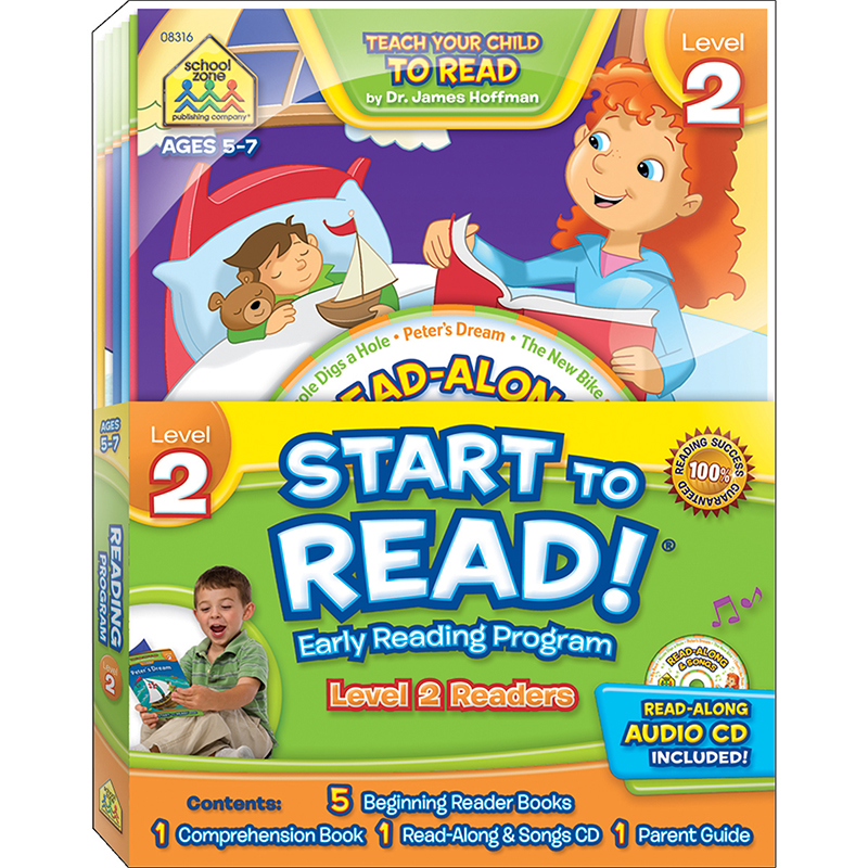 School Zone Publishing SZP08316 Early Reading Program Level 2