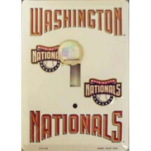 Washington Nationals Light Switch Covers (single) Plates LS10180