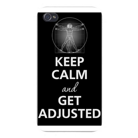 High Power Da Snap - Apple Iphone Custom Case 5 / 5s White Plastic Snap on - Keep Calm and Get Adjusted DaVinci