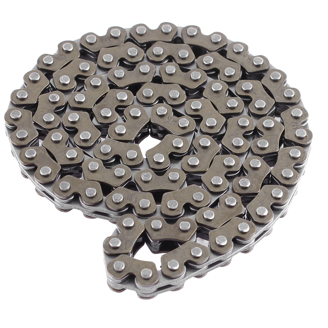 "Unique Bargains Motorcycle Repair Parts Dark Gray Metal 94 Links Drive Timing Chain 24"" Girth"