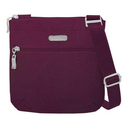 "Women's baggallini RFID Small Zip Crossbody  7.5"" x 7.5"" x 1"""