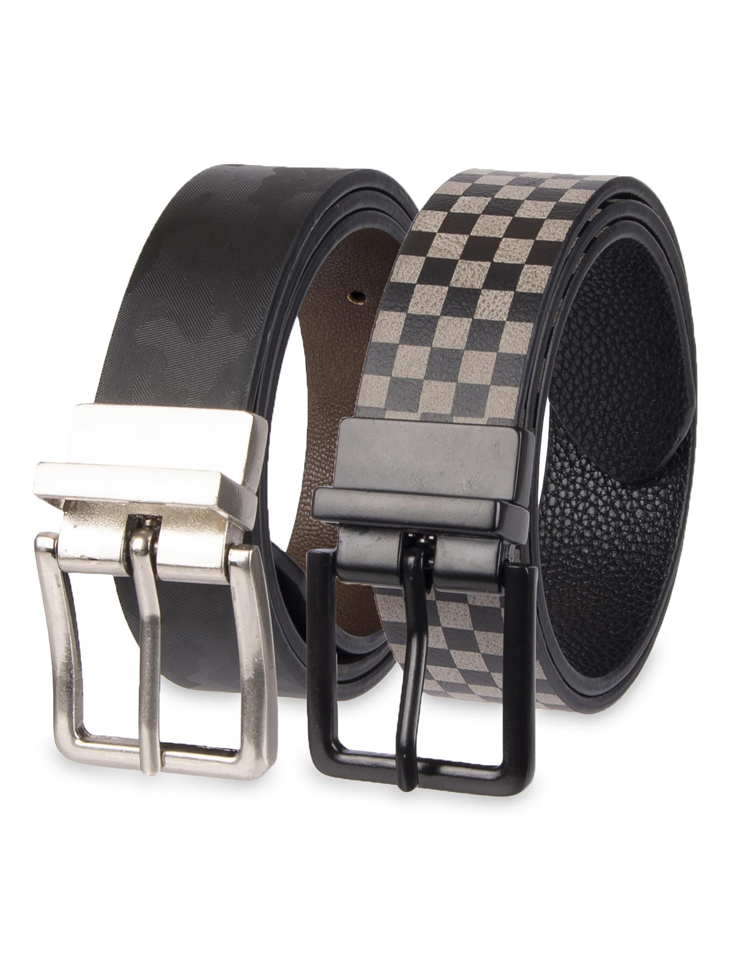Wonder Nation 2 Pack Reversible Boy's Casual Belts