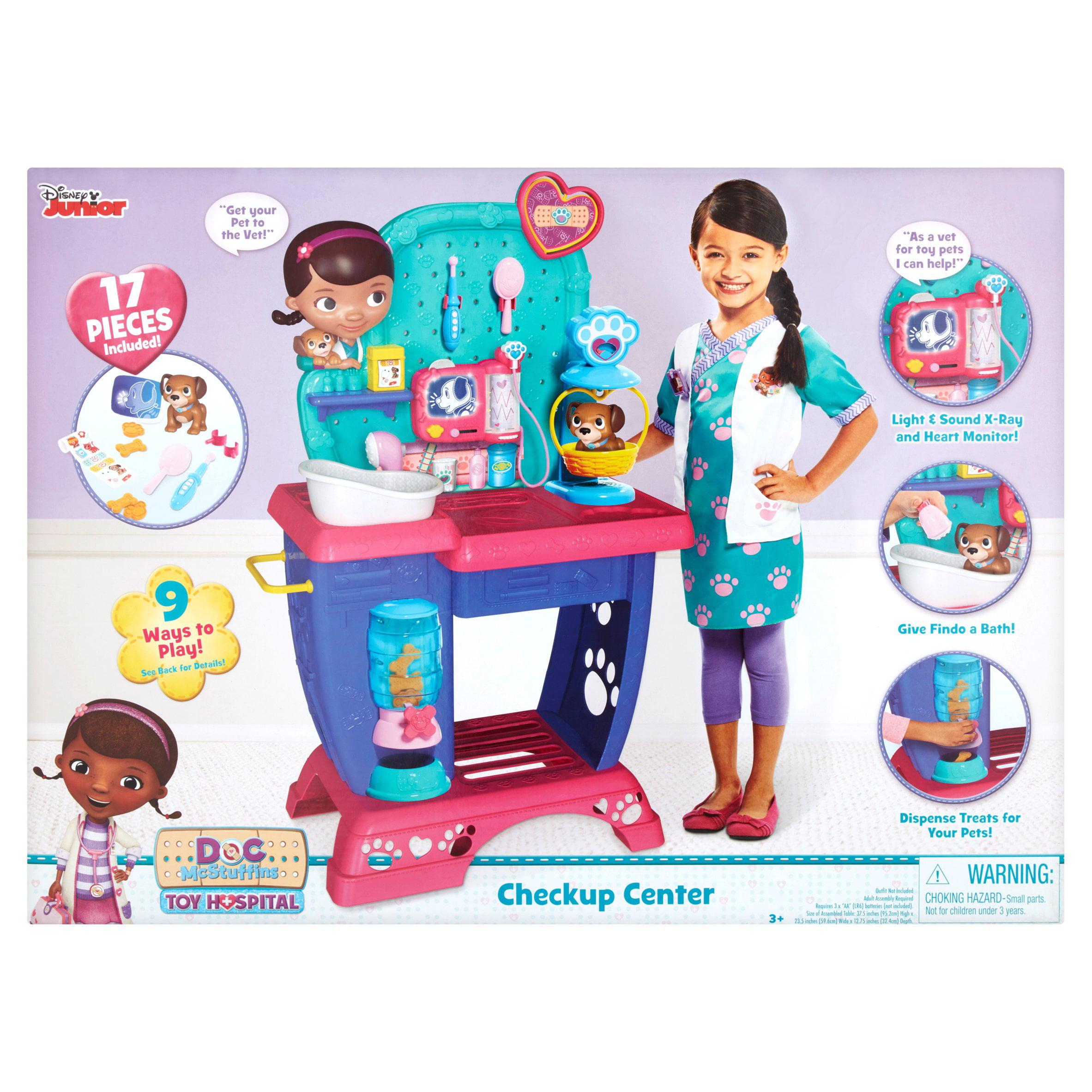 Disney Junior Doc McStuffins Toy Hospital Checkup Center 3+
