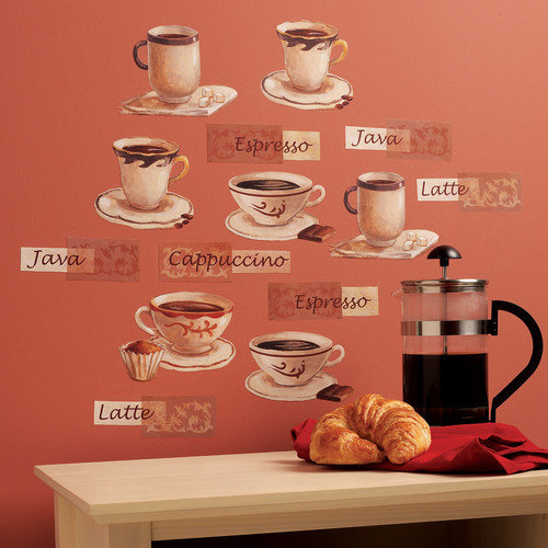 Wallies Fresh Brew Wall Decal