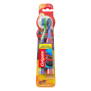 Colgate Kids Soft Toothbrush with Suction Cup, Blaze Value Pack - 2 Count