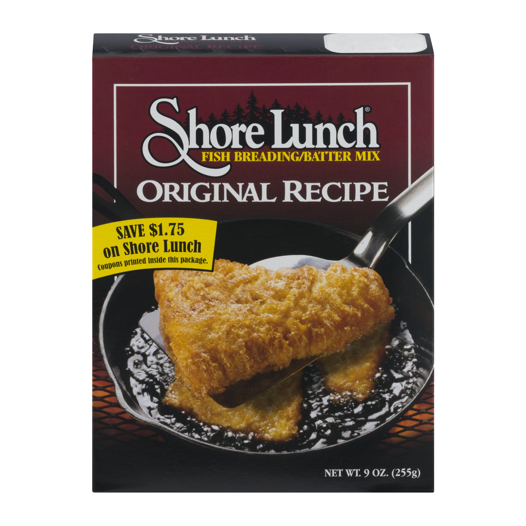 Shore Lunch Fish Breading/Batter Mix Original Recipe, 9.0 OZ