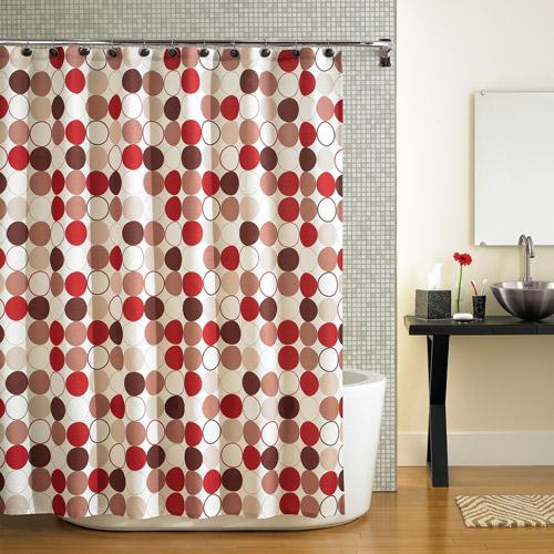 Mainstays Nu Cirque Fabric Shower Curtain