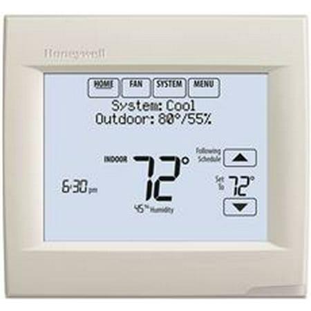 Honeywell Wi-Fi Visionpro 8000 Thermostat, White