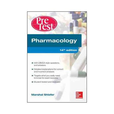Pharmacology PreTest Self-Assessment and Review