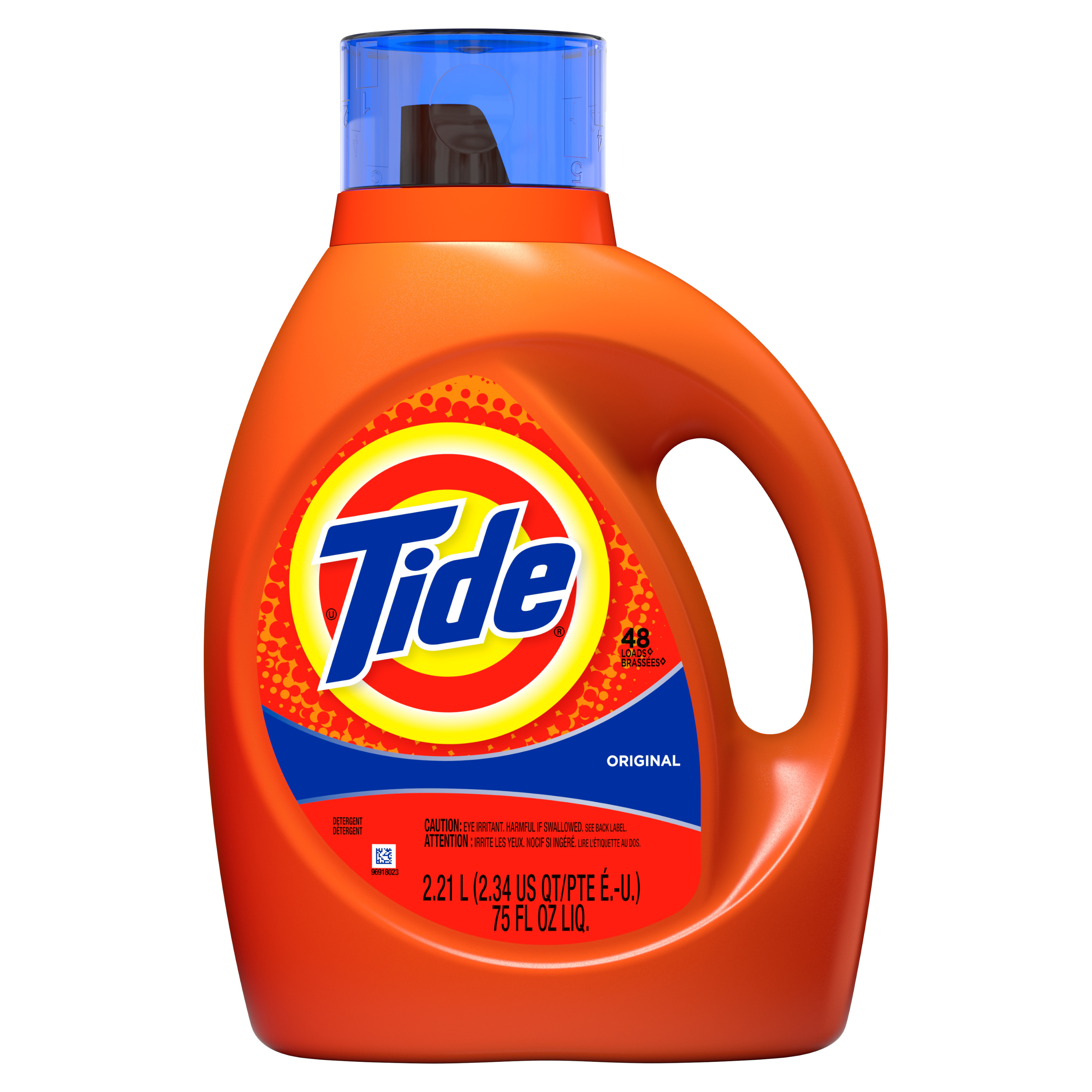 Tide Liquid Laundry Detergent, Original, 48 Loads, 2.21 L