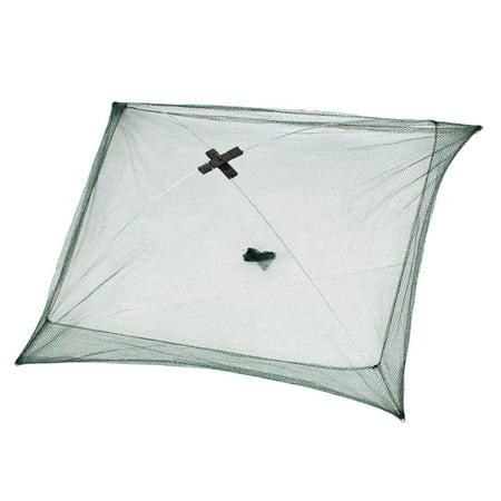 Fishing Lover Mesh Crab Baits Cast Umbrella Dip Net 76cm x 76cm - image 1 de 1