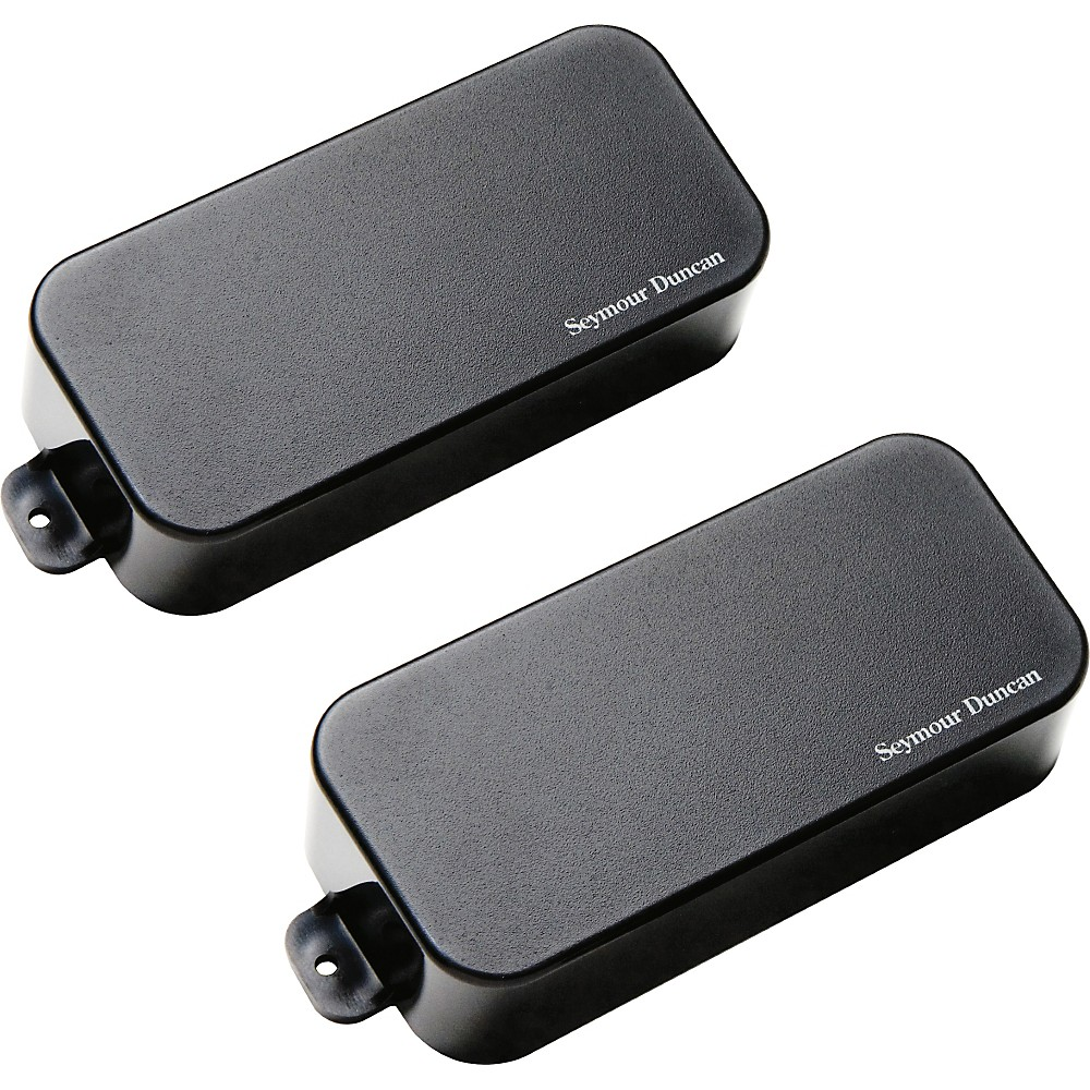 Seymour Duncan AHB-1s Blackouts Phase 1 7-String Active Humbucker Neck and Bridge Pickup Set Black
