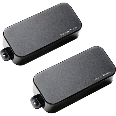 Seymour Duncan AHB-1s Blackouts Phase 1 7-String Active Humbucker Neck and Bridge Pickup Set Black Active Humbucker Pickup Set