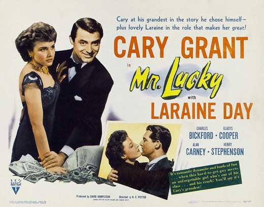 "Mr. Lucky - movie POSTER (Style A) (11"" x 17"") (1943) - Walmart.com -  Walmart.com"