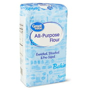 (2 Pack) Great Value All Purpose Flour, 10 Lb