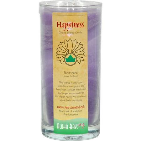 Aloha Bay - Chakra Energy Candle Jar Happiness - 11 - Chakra Energy Candle