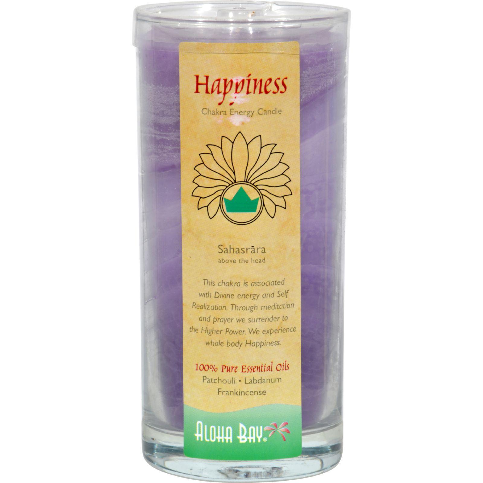 Aloha Bay - Chakra Energy Candle Jar Happiness - 11 oz.