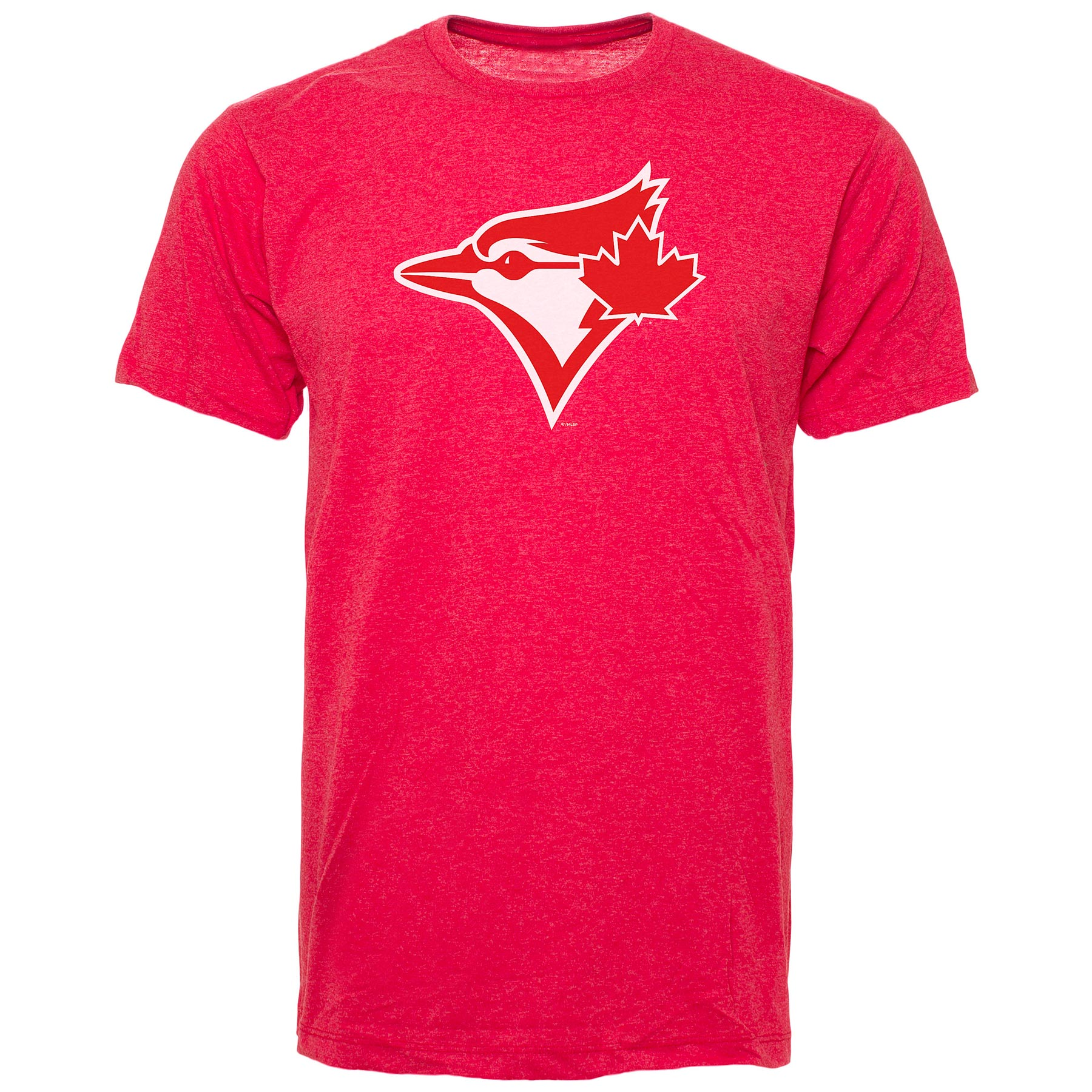 Toronto Blue Jays Red-White Logo T-Shirt (Red)