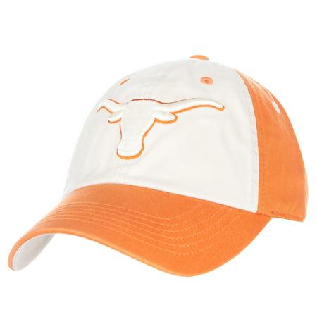Men's Tan/Texas Orange Texas Longhorns Goulburn Adjustable Hat - OSFA (Texas Longhorn Hats)