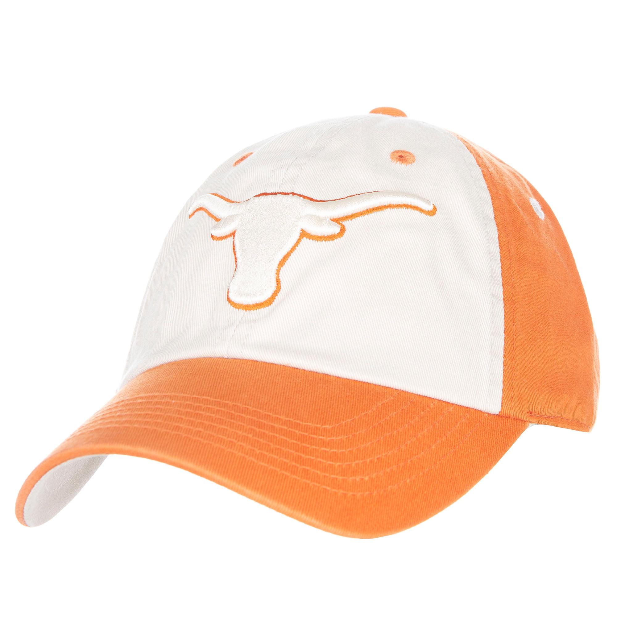 Men's Tan/Texas Orange Texas Longhorns Goulburn Adjustable Hat - OSFA