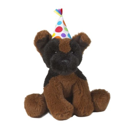 Ganz Soft Spots  Birthday Puppy Plush With Sound (German Shepherd)